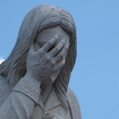 """Jesus te ama viu,moço?"""