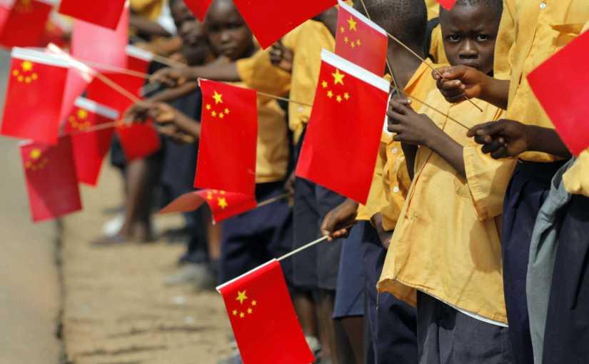Afrika x china: um quintalamarelo..