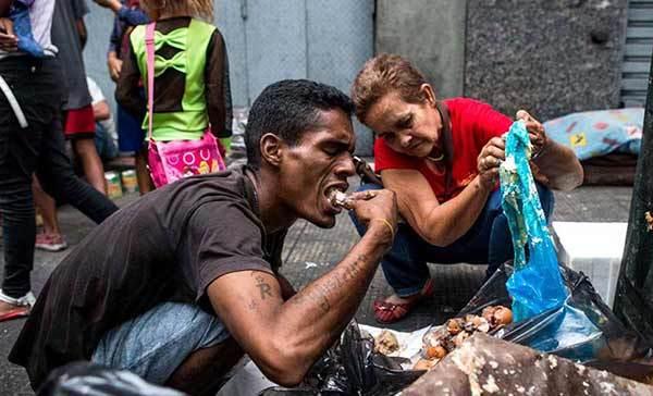 Resultado de imagem para fotos crise venezuela